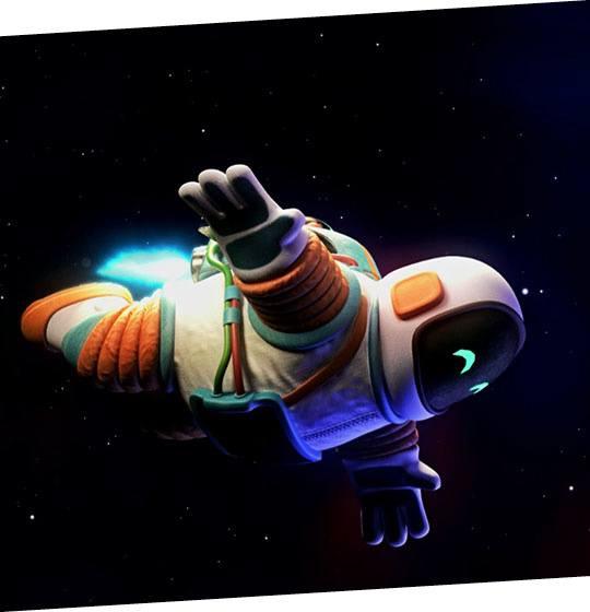 Formation animation 3D astronaute: école MoPa