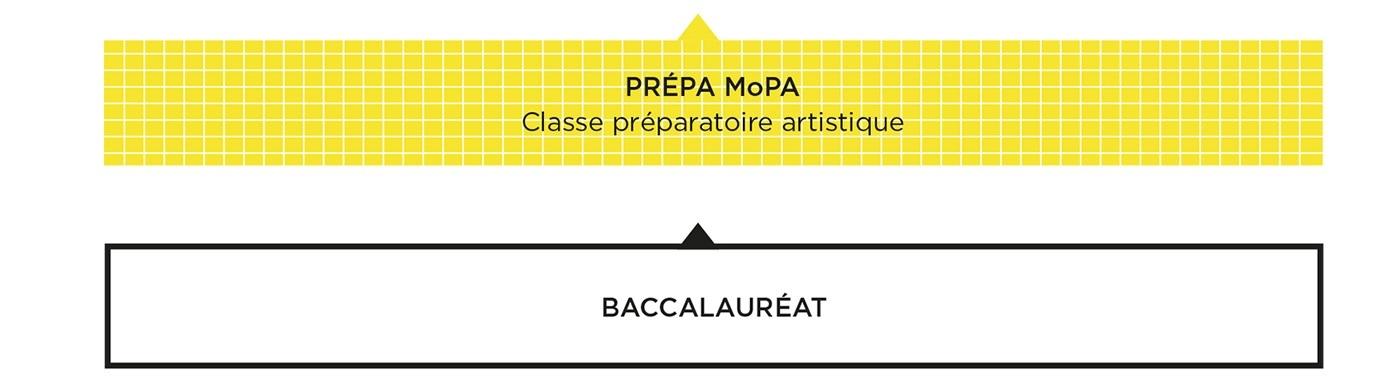 Schéma des études Prepa - MoPA