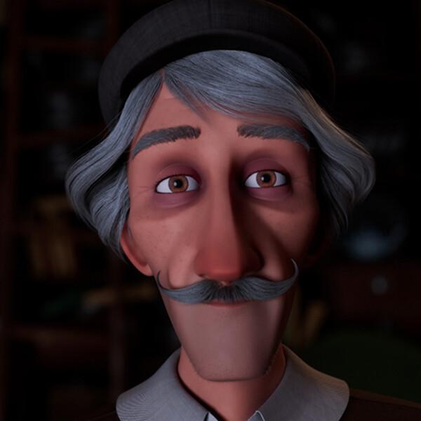 Film d'animation Inoubliable - Meline Pischedda, Marine Dieval, Gaëlle Renault, Alexandre Mougenot, Cintia Sabater Vilchez MoPA 2021