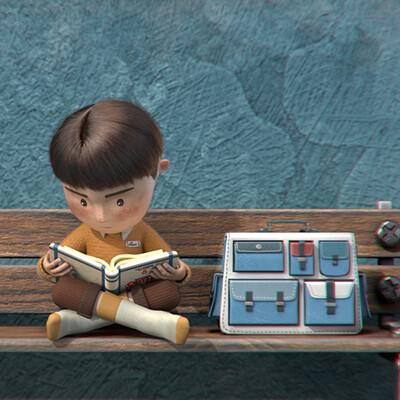 Film d'animation 3D MoPA - Les chaussures de Louis
