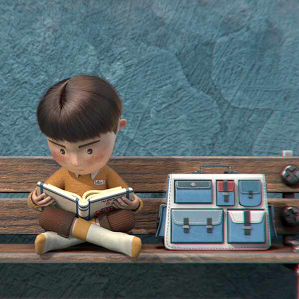 Film d'animation Les chaussures de Louis - Marion Philippe, Ka Yu Leung, Jean-Géraud Blanc, Théo Jamin MoPA 2020